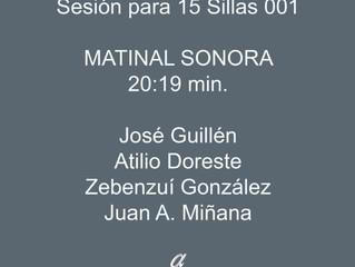Matinal Sonora - Sesiones para 15 Sillas 001