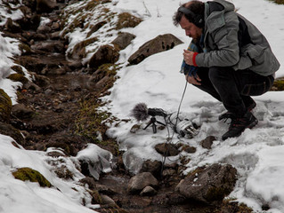 Strumyk en Kuznice (snow-walking)