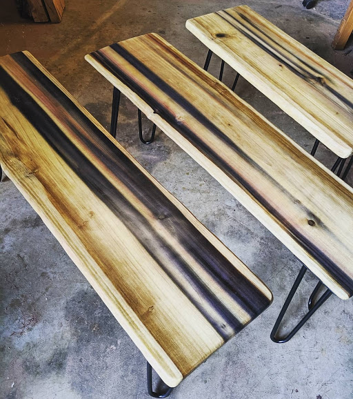 Rainbow Poplar Benches