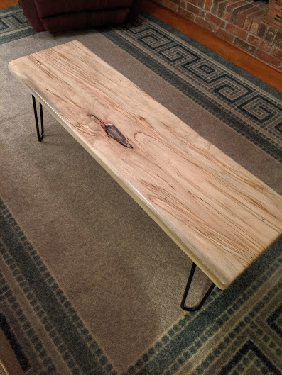 Ambrosia Maple Bench
