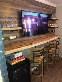 Ambrosia Maple Bar Top and Shelves