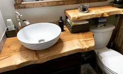 Ambrosia Maple Bathroom Set