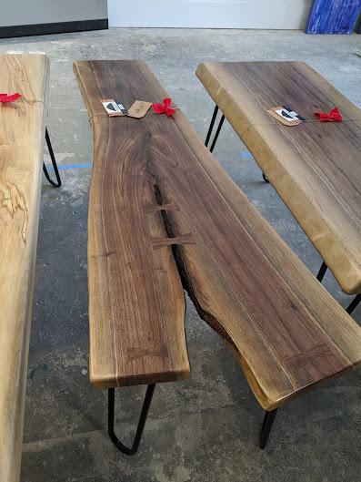 Walnut Crotch Table