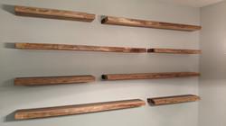 Floating Shelves made from Poplar