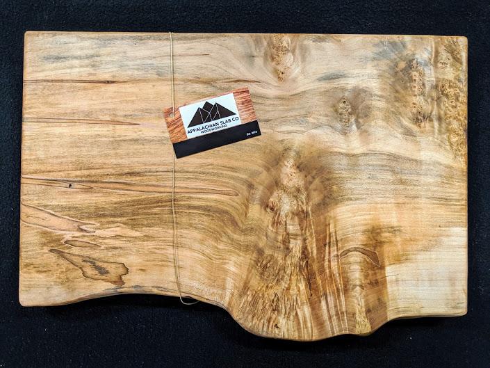Burl Ambrosia Maple Cutting Board
