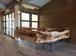 Welcome Center Slab Furniture built by M