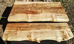 Matching set of Ambrosia Maple shelves
