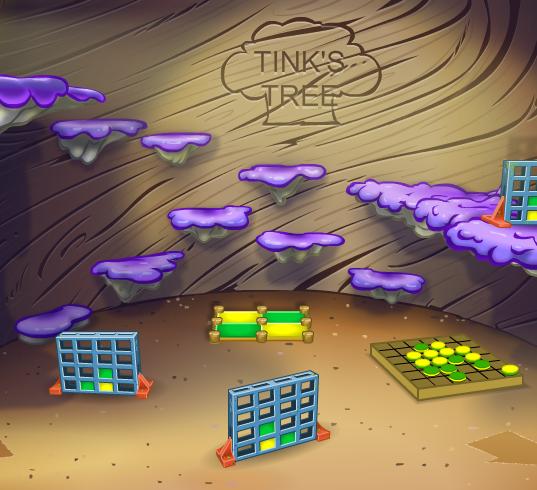 Inside Tinks Tree