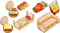 Fast Food Furniture Conceps