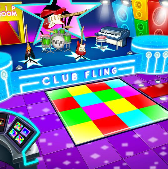 Club Fling interior
