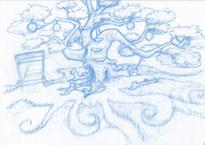 Tink's Tree blue print