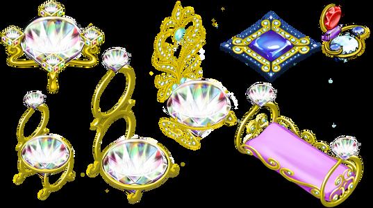 Diamond ring concepts
