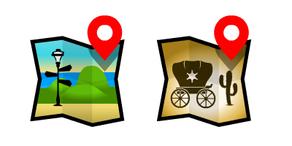 Icon locations