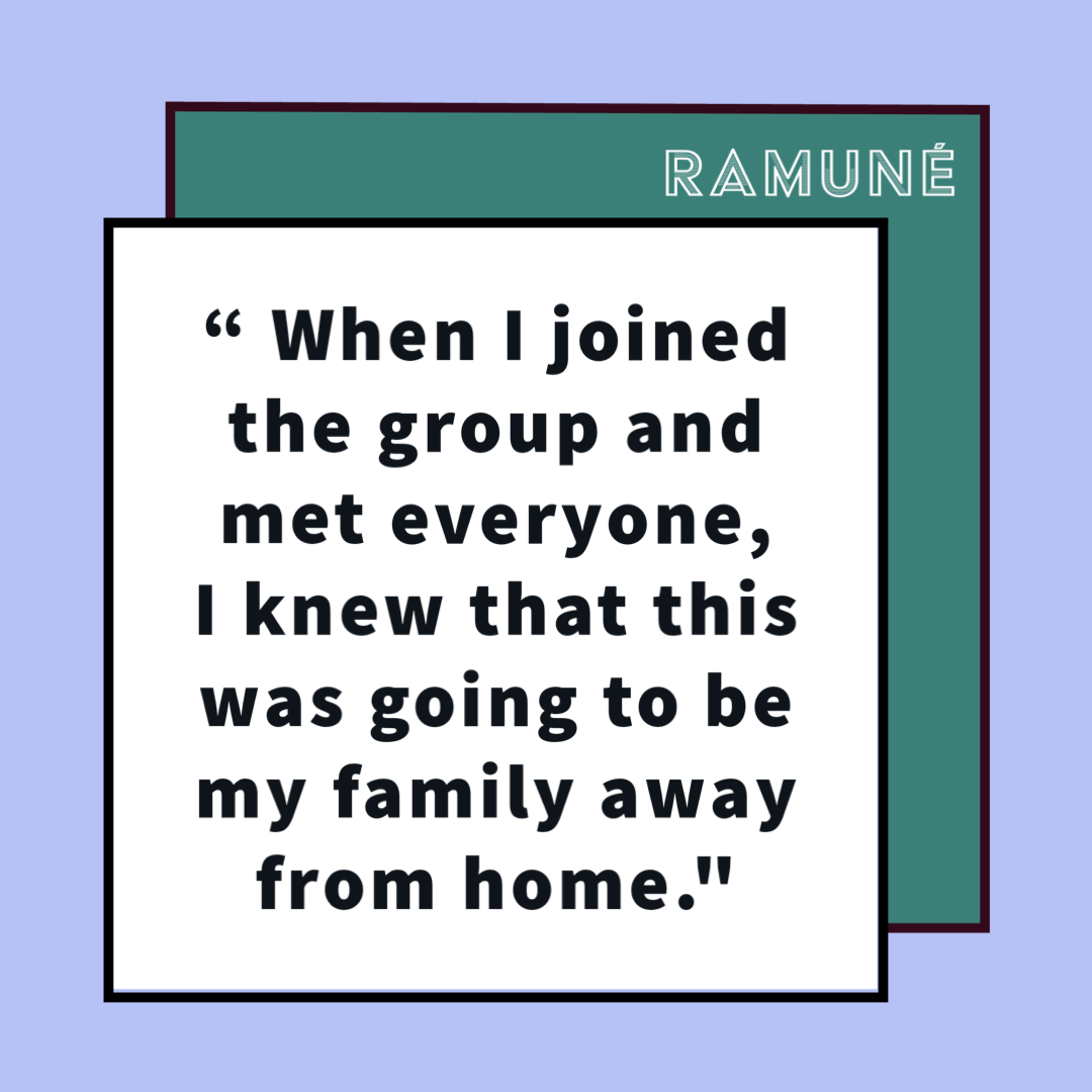 Ramune's Audition Story
