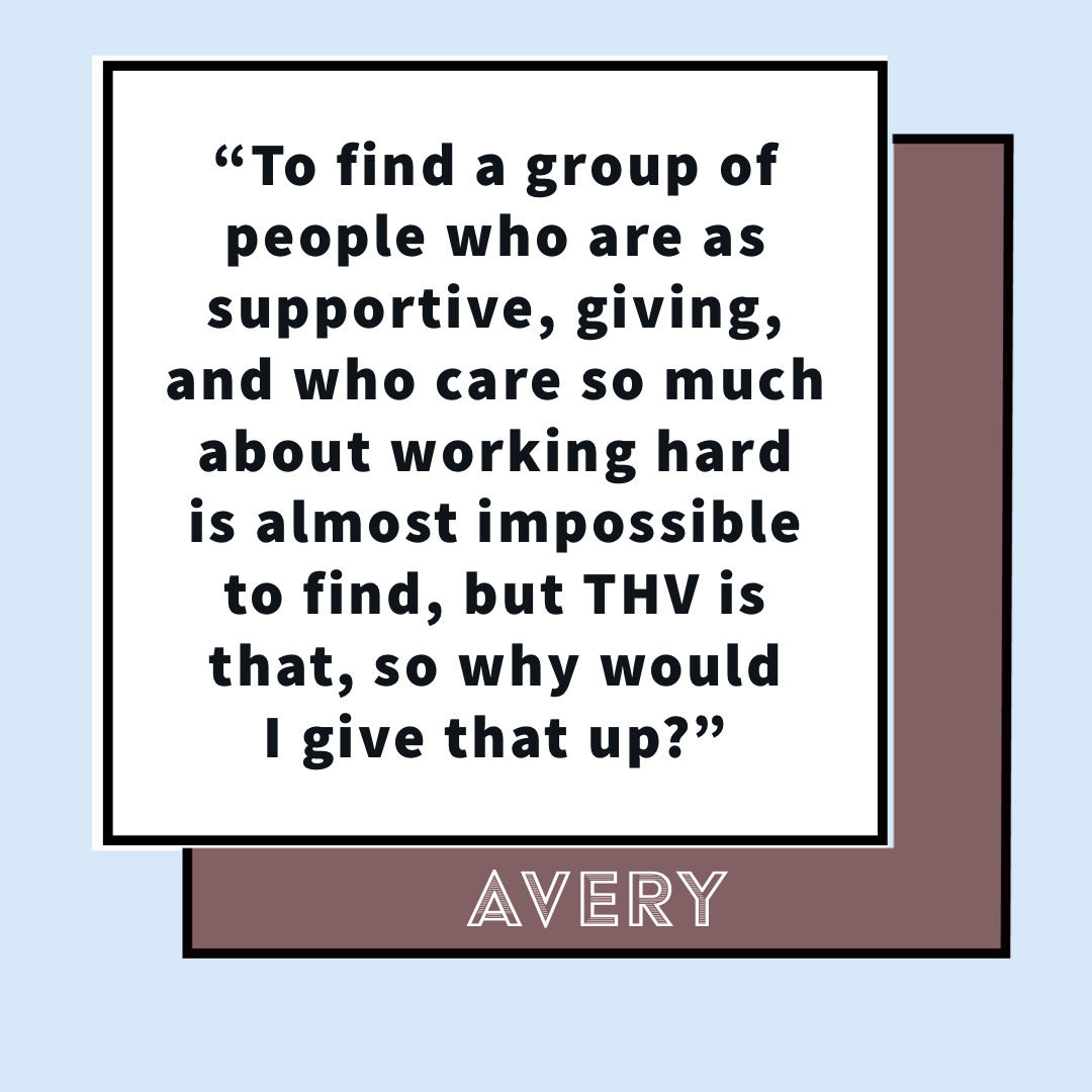 Avery's Audition Story