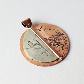 Hinged Pendant, Right Page - 2016