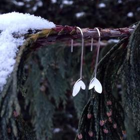 Medium-Length Sprout Earrings - 2019