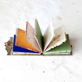 Book Pendant, Open - 2016
