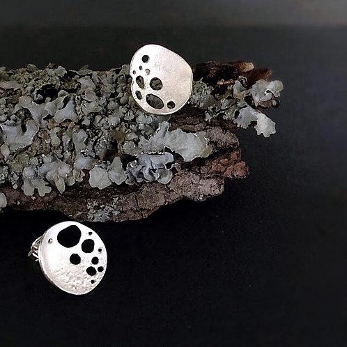 White Lichen Studs
