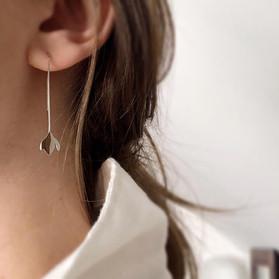 Long Snowdrop Earrings - 2019