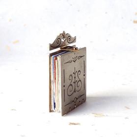 Book Pendant, Closed - 2016