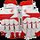 Thumbnail: TC - Red/White Batting Gloves