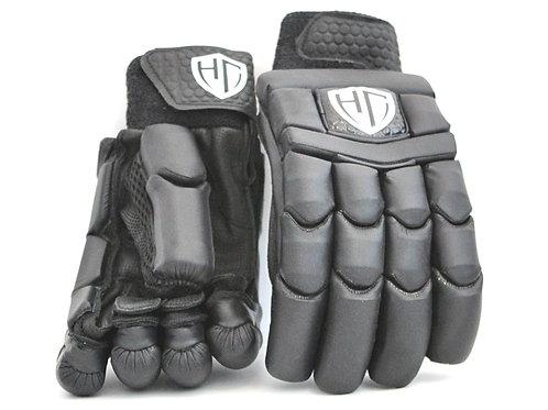 HC Players Black Batting Gloves