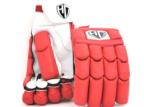 HC Players Red Batting Gloves