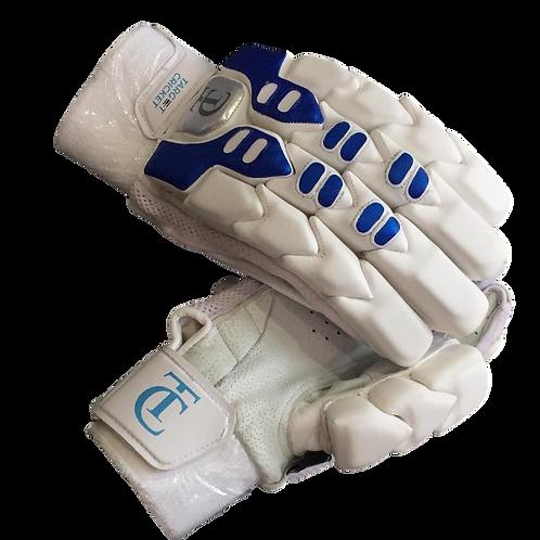 TC - Blue/White Batting Gloves
