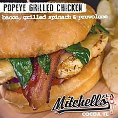 Popeye Grilled Chicken