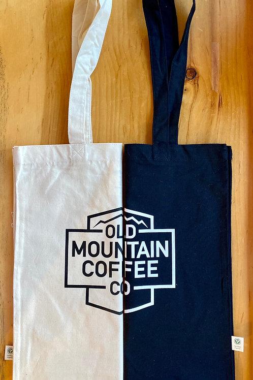 Organic Cotton OMC logo tote bag