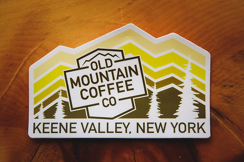 OMC Mountain Sticker