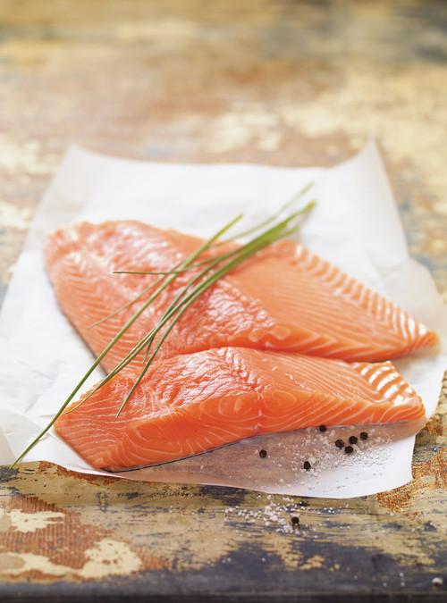 saumon fume erable