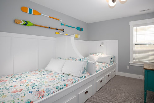 #18 Ground Level Tandem Double Room