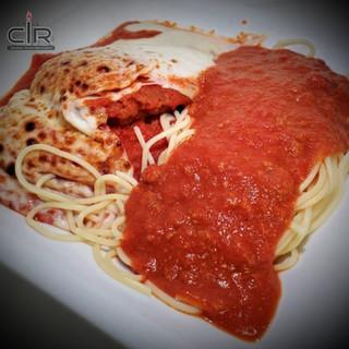 Chicken Cutlet Parmigian