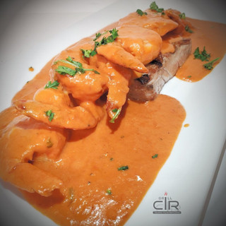 Tuna Grill and Shrimp