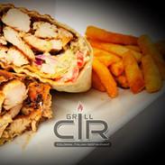 Grilled Chicken Fiesta Wrap