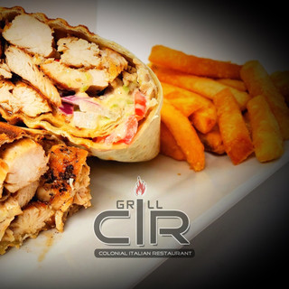 Grilled Chicken Fiesta Wrap