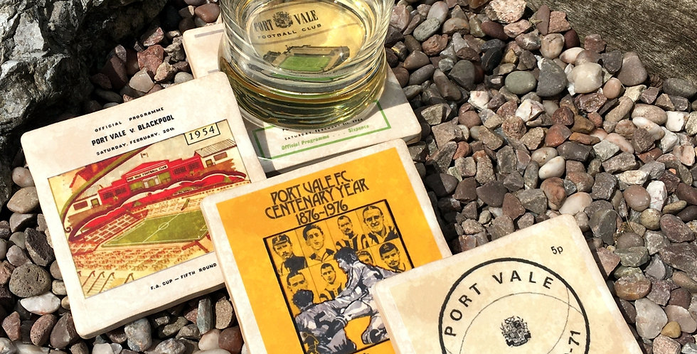 Port Vale Football Coasters