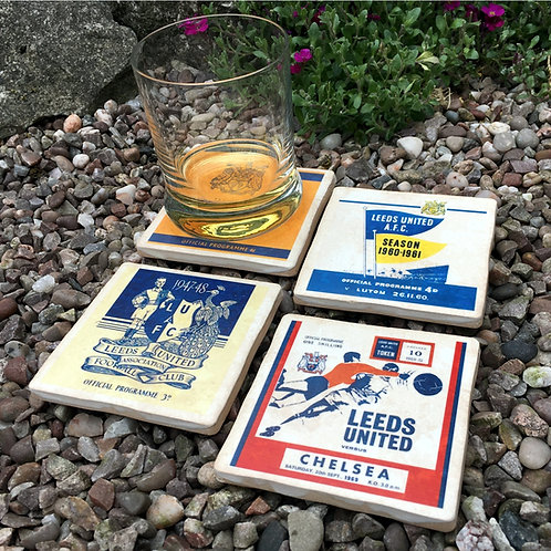 Leeds United Football Coasters