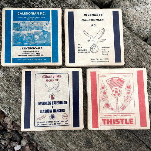 Inverness Caledonian Thistle Football Coasters