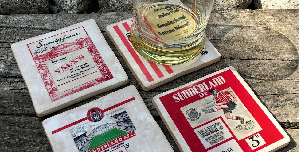 Sunderland Football Coasters