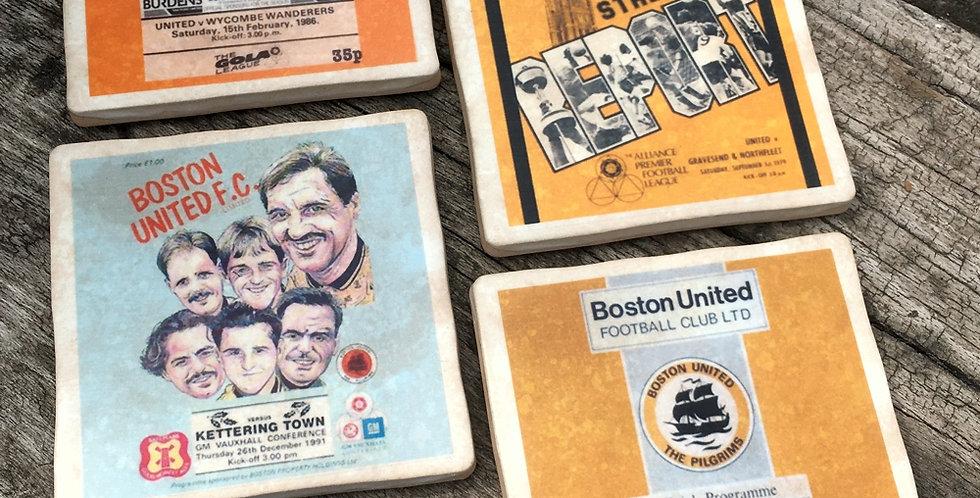 Boston United Football Coasters