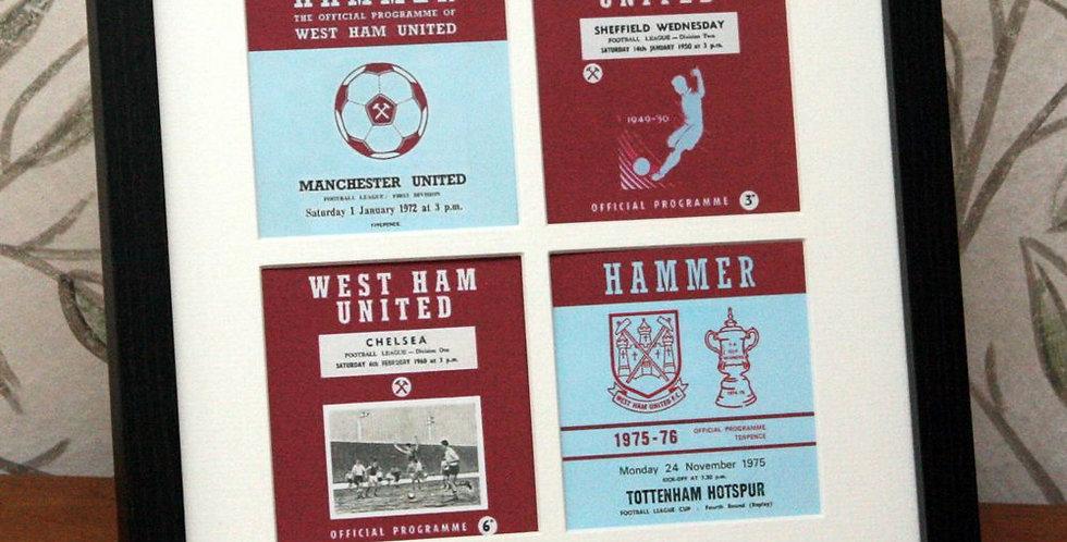 West Ham Framed Print
