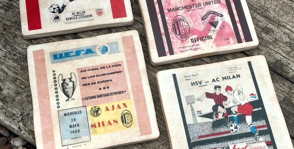 AC Milan Football Coasters
