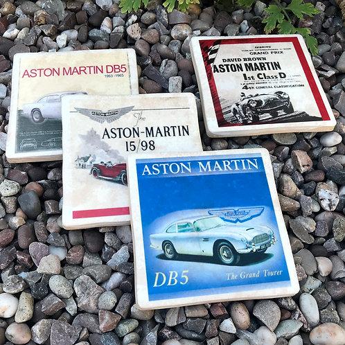 Aston Martin Coasters