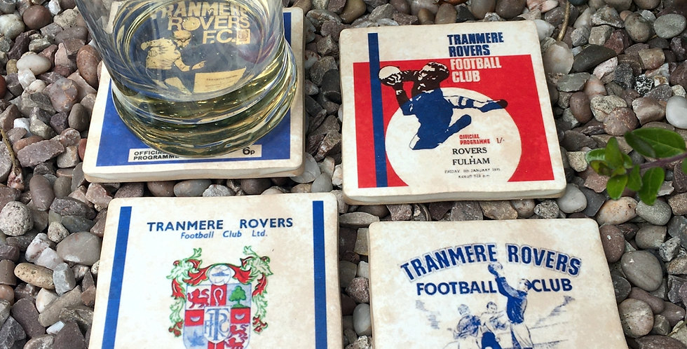 Tranmere Rovers Football Coasters