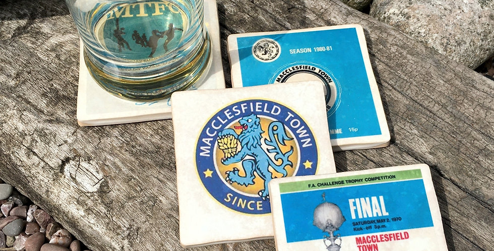 Macclesfield Town Football Coasters