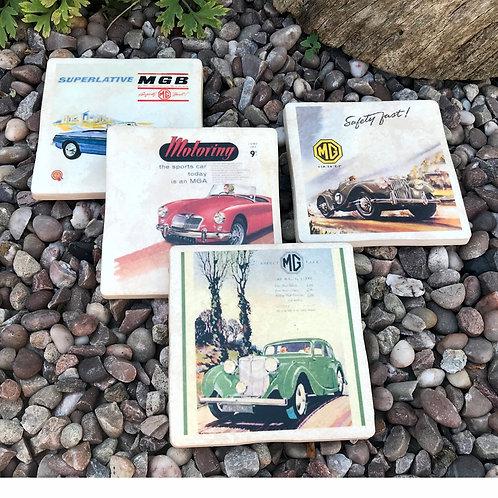 MG Coasters - Vintage Posters