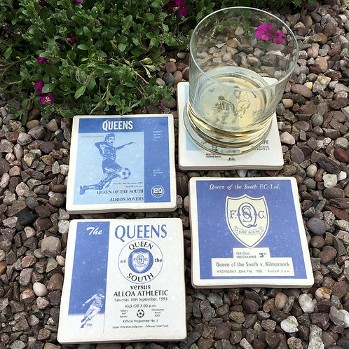 Queen of the South Football Coasters